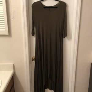 Fab'rik L float dress 3/4 sleeve piko